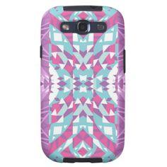 Mix #448 - Pink Designer Samsung Galaxy S3 Case