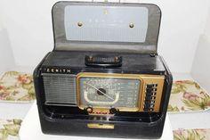 SALE Vintage Zenith TRANS-OCEANIC Radio by MyJewelsBoutique