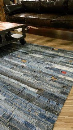Jeans-Teppich