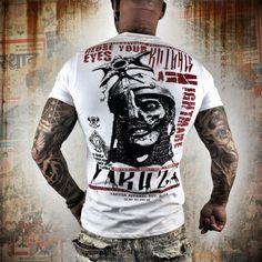 YAKUZA | Yakuza tričko TSB 9009 White | Warrior Store | streetwear, bojové sporty
