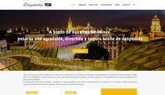 Despedidas TCB. Responsive web design.