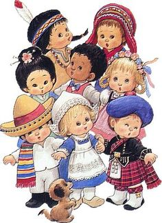 A World of Friends 1993 Calendar Ruth J Morehead Cute Kids Multicultural Unused Vintage Girls, Vintage Children, Cute Images, Cute Pictures, Photografy Art, Christian Posters, Sarah Kay, We Are The World, Christian Gifts