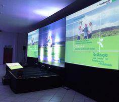 Evento Syngenta Lucas do Rio Verde- MT  Locação de iluminação, projeção, sonorização e áudio.
