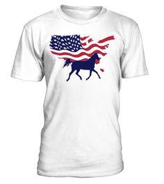 American Horse Lovers Shirt  #gift #idea #shirt #image #horselovershirt #lovemypet