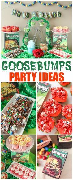 Goosebumps party ideas and 10 hilarious minute to win it games! #MakeItAMovieNight ad