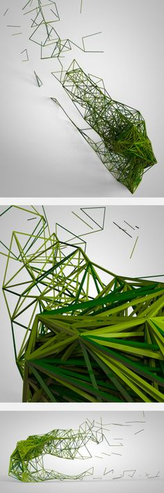 Kinect Project by Alkanoids, via Behance