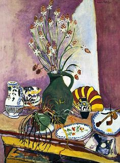 Henri Matisse  Still Life with Asphodel  1907