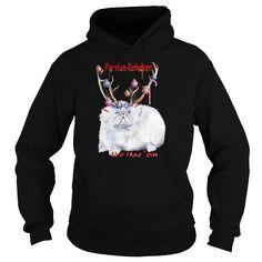 Persian Reindeer  Womens Long Sleeve Jersey TShirt