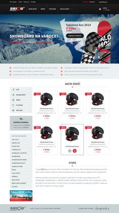 E-shop Design - SKI4U
