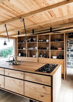 31 Modern Cooking Area Suggestions Every Residence Cook Need Küchen Design, House Design, Design Trends, Kitchen Interior, Kitchen Decor, Interior Architecture, Interior Design, Bespoke Kitchens, Cuisines Design