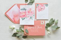 Peach watercolors: http://www.stylemepretty.com/collection/2550/