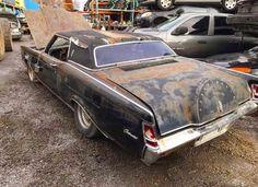 1970 lincoln continental parts car/scrap car complete has rust d0ve 460 engine (runs) posi rear end c6 transmission