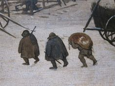 Bruegel Census at Bethlehem 1566 detail 10