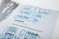 Nu-Lait Annual Report on Behance #editorial