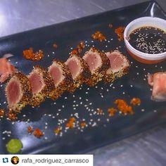 Tataki in #LaJoya #bistro #realaguaamarga  @rafa_rodriguez_carrasco  Tataki!! #realbistro #tataki #japo #foodporn #goodlife #cena #hotel #aguaamarga @juanma_masterchef @realaguaamarga by realaguaamarga