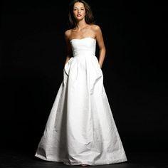 Preppy Perfection :  wedding dress los angeles Lucinda Jcrew Gown lucinda_jcrew_gown