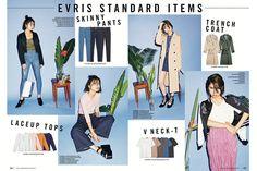EVRIS(エヴリス)│EVRIS CATALOG│ランウェイチャンネル
