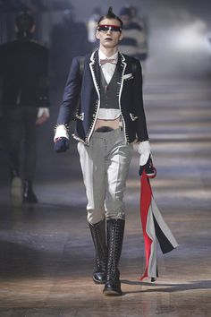 THOM BROWNE.  And, this man wants to be taken seriously ?