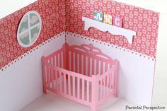 Lori Whitlock Baby Crib Card
