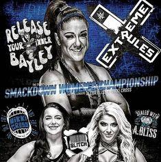 Bayley Def Alexa Bliss & Nikki Cross to retain WWE SD Women Champion in a 2 on 1 handicap match Wwe Nxt Divas, Evolution, Bliss, Wwe Stuff, Sd, Instagram, Champion, Random, Casual