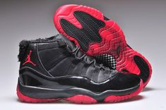 23dfd4ff46e Air Jordans 11 XI Black Red Clearance Store Superstar, Nike Air Jordan 11,  Cheap