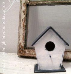 Deko-Objekte - Vogel No. 1 - ein Designerstück von EinWenigHiervonUndDavon bei DaWanda