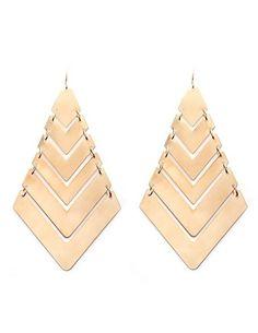 Layered Arrow Earrings: Charlotte Russe