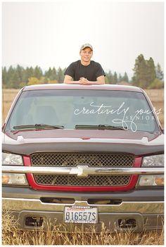 Spokane Senior Guy with truck Senior Boy Poses, Senior Portrait Poses, Senior Guys, Senior Year, Senior 2017, Guy Poses, Senior Session, Truck Senior Pictures, Male Senior Pictures