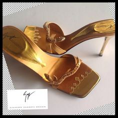HPGIUSEPPE ZANOTTI Gold Serpent Sandals 100% AUTHENTIC- GIUSEPPE ZANOTTI Leather Gold Sandals with serpents.NEVER WORN. NIB. Includes dust bag and original box. Purchased at Saks Fifth Ave Giuseppe Zanotti Shoes Sandals