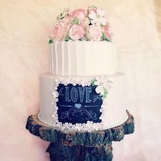 The Cake Cottage Sophisticated Wedding Cake | Wedding Cakes | Pinterest |  Sophisticated Wedding And Wedding