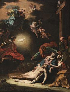 Piedad. Sebastiano Ricci. 1691-1706.