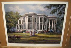 Al Federico Nottoway Plantation Signed Artist Proof Print #Realism