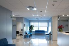 Ceiling Tiles, Ceiling Design, Healthy Environment, Hospitals, Ceilings, Acoustic, Madrid, Innovation, Roof Design