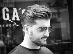Haircut by virogas.barber http://ift.tt/21QS0zZ #menshair #menshairstyles #menshaircuts #hairstylesformen #coolhaircuts #coolhairstyles #haircuts #hairstyles #barbers