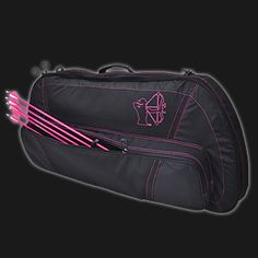Shoot Like a Girl Bowcase- my friend Halle Page needs this!!