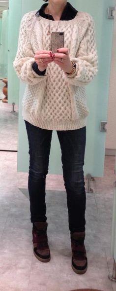 Aran Irish knit sweaters for the people!