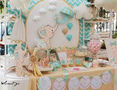 "Rain / Umbrellas / Baptism ""It's Raining Love - Pink Elephant"" | Catch My Party"