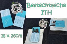 ♥+Bestecktasche+♥+ITH+♥+16x26cm+♥+von+Bastelfreakz+Embroidery+auf+DaWanda.com