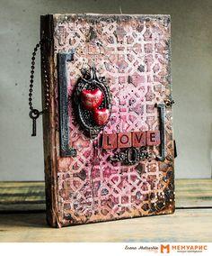 Творческая мастерская Мемуарис: Мастер-класс от Елены Харламовой: альтербук LOVE