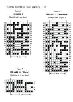 Mosaic Knitting Barbara G. Walker (Lenivii gakkard) #22