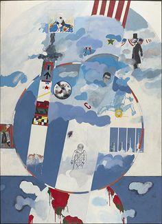 Derek Boshier: I Wonder What My Heroes Think of the Space Race Mass Culture, Pop Culture Art, Pop Art, James Rosenquist, Neo Dada, Claes Oldenburg, Protest Art, Jasper Johns, Roy Lichtenstein