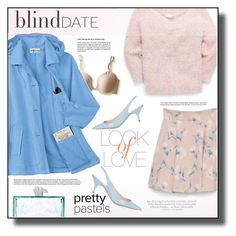 """""""Looking Fab on Blind Date"""" by rosie305 ❤ liked on Polyvore featuring Vince, Nina Ricci, Kate Spade, women's clothing, women, female, woman, misses, juniors and blinddate"""