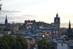 Edimburgo. Escocia atardecer desde Carton Hill Agosto 2013
