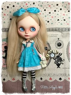 https://flic.kr/p/RXDts3   ALICE   Custom Blythe #132 by Petite Apple (adopted)