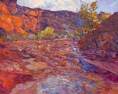 Energetic Landscape Paintings Portray Artist Erin Hanson's Love for National Parks - My Modern Met