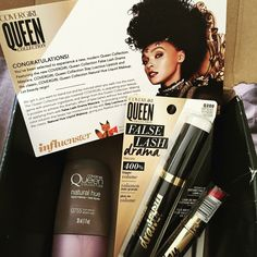 """""""I received these products complimentary from Influenster for testing purposes."""" @COVERGIRL @influenster #voxbox #QueenCollection"""