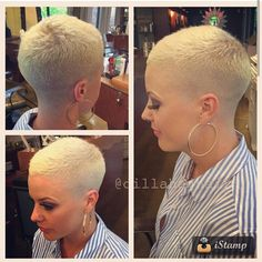 heartturntostone: Next haircut? Minus the blonde