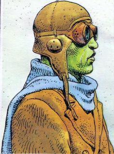 Image result for moebius edena sketches pencil Jean Giraud, Character Concept, Concept Art, Character Design, Frank Margerin, Heavy Metal Comic, Moebius Art, Serpieri, Jordi Bernet