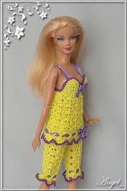 Résultats de recherche d'images pour « free crochet doll costumes for barbie dolls »