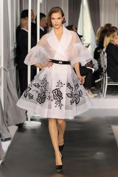 Fabrics architecture as my friend defined the collection of Christian Dior